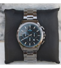 Wrist watch with staleness steal strap