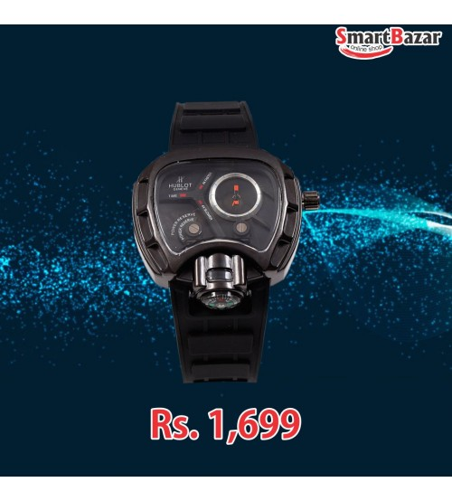 Black Smart Watch for boys