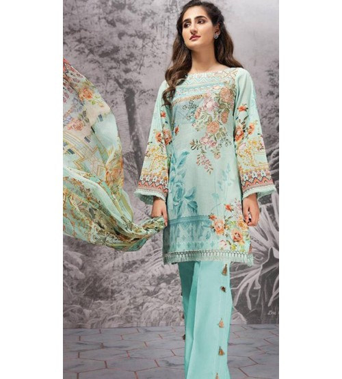 Awesome  Embroidered Linen Suit