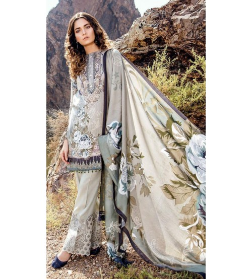 Khaddar Collection Unstitched Suit For Women