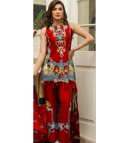 Wool Shawl Khaddar Suit Embroidered Trouser