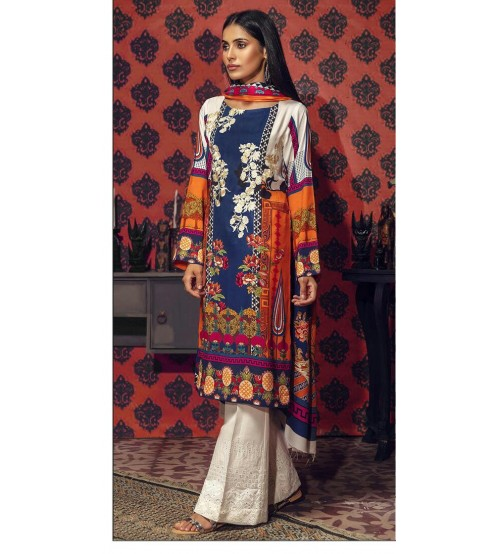 Khaddar Embroidered Suit